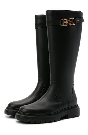 Женские кожаные сапоги valais BALLY черного цвета, арт. GAILA/00 | Фото 1