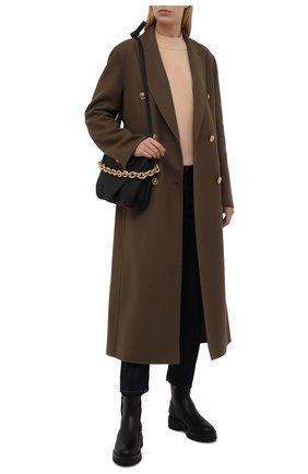 Женские кожаные ботинки GIANVITO ROSSI черного цвета, арт. G73377.20G0M.CLYNENE | Фото 2