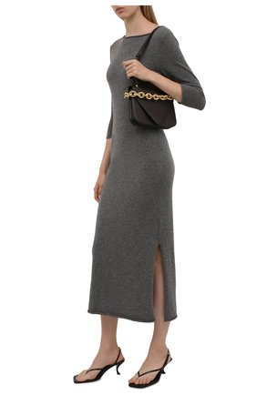 Женское кашемировое платье POLO RALPH LAUREN серого цвета, арт. 211827866 | Фото 2
