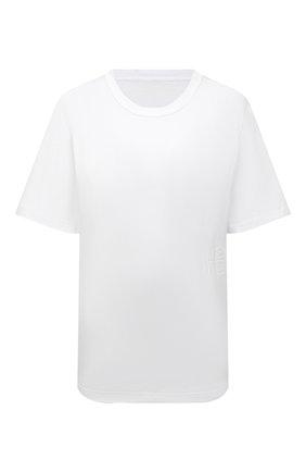 Женская хлопковая футболка ALEXANDERWANG.T белого цвета, арт. 4CC3211281 | Фото 1