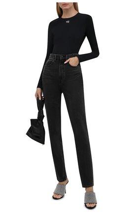 Женское боди ALEXANDERWANG.T черного цвета, арт. 4CC3217032 | Фото 2