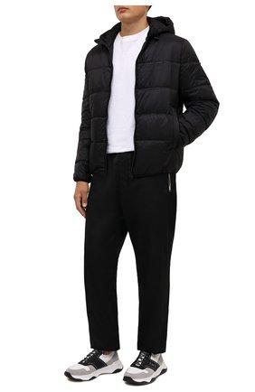 Мужские комбинированные кроссовки shadow BERLUTI светло-серого цвета, арт. S5543-001   Фото 2