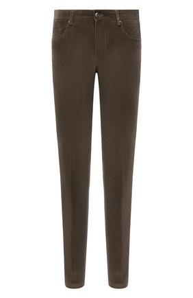 Мужские хлопковые брюки CORNELIANI темно-бежевого цвета, арт. 884L01-1818502/00 | Фото 1