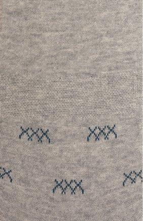 Мужские подследники ERMENEGILDO ZEGNA светло-серого цвета, арт. N5V044530 | Фото 2
