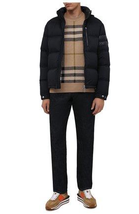 Мужская пуховая куртка delaume MONCLER темно-синего цвета, арт. G2-091-1A000-05-53333 | Фото 2
