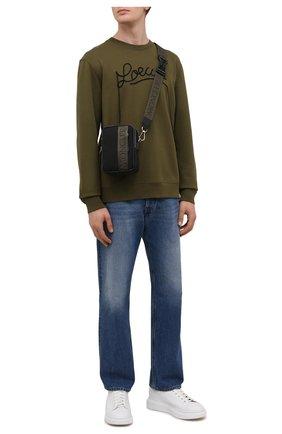 Мужская текстильная сумка detour MONCLER черного цвета, арт. G2-09A-5L700-00-5959V | Фото 2 (Материал: Текстиль; Ремень/цепочка: На ремешке)