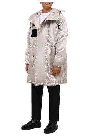 Мужские кожаные кеды promyx space MONCLER черного цвета, арт. G2-09A-4M735-00-02SXU | Фото 2