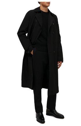 Мужские кожаные ботинки skiligny BALLY черного цвета, арт. SKILIGNY/600 | Фото 2 (Материал внутренний: Натуральная кожа; Мужское Кросс-КТ: Ботинки-обувь, Дезерты-обувь; Подошва: Плоская)