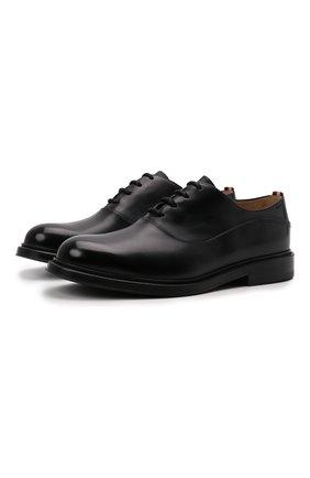 Мужские кожаные оксфорды nilder BALLY черного цвета, арт. NILDER/40 | Фото 1 (Материал внутренний: Натуральная кожа; Стили: Классический)