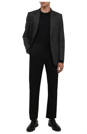 Мужские кожаные оксфорды nilder BALLY черного цвета, арт. NILDER/40 | Фото 2 (Материал внутренний: Натуральная кожа; Стили: Классический)