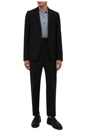 Мужские кожаные дерби norber BALLY черного цвета, арт. N0RBER/110 | Фото 2 (Материал внутренний: Натуральная кожа; Стили: Классический)