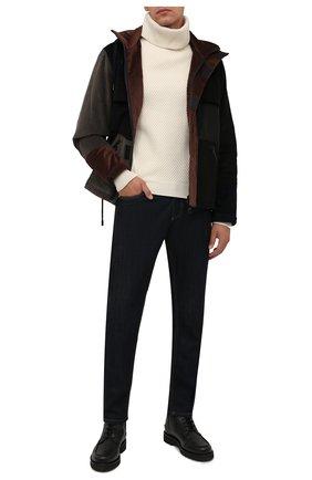 Мужские кожаные ботинки nokor BALLY черного цвета, арт. N0K0R/20 | Фото 2 (Материал внутренний: Натуральная кожа; Подошва: Плоская; Мужское Кросс-КТ: Ботинки-обувь)
