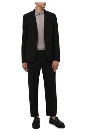 Мужские кожаные пенни-лоферы noah BALLY черного цвета, арт. N0AH/110 | Фото 2 (Материал внутренний: Натуральная кожа; Стили: Кэжуэл)