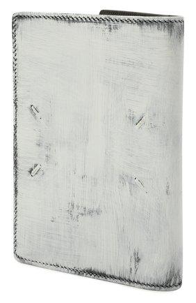Мужской кожаная обложка для паспорта MAISON MARGIELA белого цвета, арт. S35UI0505/P4268 | Фото 2