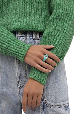 Женское кольцо LILI ARCHIVE бирюзового цвета, арт. RM3C33S3 | Фото 2