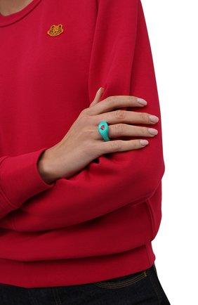 Женское кольцо LILI ARCHIVE бирюзового цвета, арт. RM3C11S3 | Фото 2