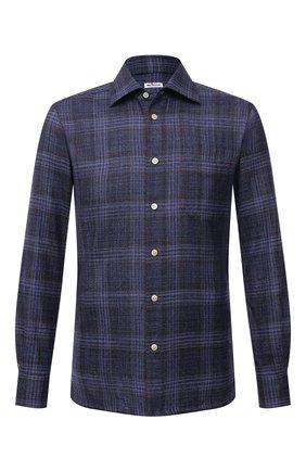 Рубашка из шерсти и шелка | Фото №1