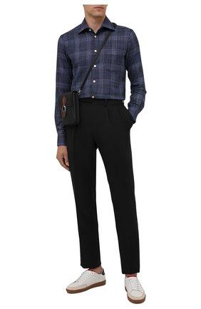 Рубашка из шерсти и шелка | Фото №2