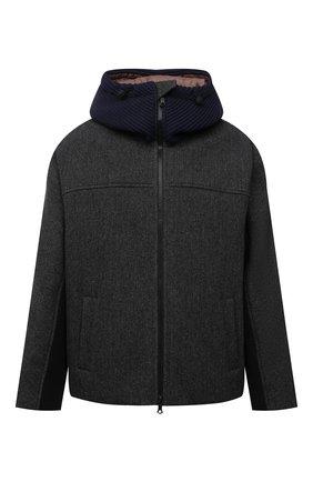 Мужская шерстяная куртка VALENTINO разноцветного цвета, арт. WV3CIK207LV | Фото 1 (Рукава: Длинные; Материал внешний: Шерсть; Материал подклада: Синтетический материал; Длина (верхняя одежда): Короткие; Кросс-КТ: Куртка; Мужское Кросс-КТ: шерсть и кашемир; Стили: Кэжуэл)