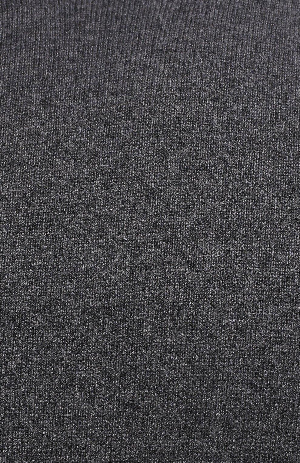 Мужской кашемировая водолазка MAISON MARGIELA серого цвета, арт. S50HA1012/S17783 | Фото 5 (Материал внешний: Шерсть, Кашемир; Рукава: Длинные; Принт: Без принта; Длина (для топов): Стандартные; Стили: Классический; Мужское Кросс-КТ: Водолазка-одежда)