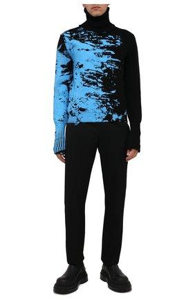 Мужской шерстяной свитер VETEMENTS разноцветного цвета, арт. UA52KN840B 2901/M   Фото 2