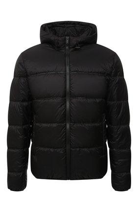 Мужская утепленная куртка GIVENCHY черного цвета, арт. BM00RE13Q2 | Фото 1