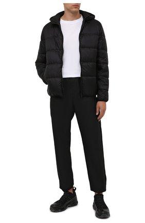 Мужская утепленная куртка GIVENCHY черного цвета, арт. BM00RE13Q2 | Фото 2