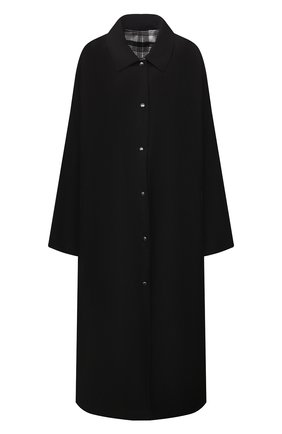 Женский плащ FORTE DEI MARMI COUTURE черного цвета, арт. 21WF1501 | Фото 1