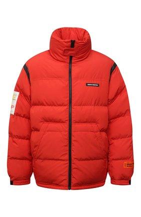 Мужская утепленная куртка HERON PRESTON красного цвета, арт. HMED008F21FAB0012500   Фото 1