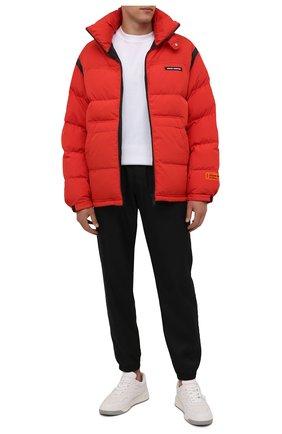 Мужская утепленная куртка HERON PRESTON красного цвета, арт. HMED008F21FAB0012500   Фото 2