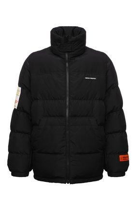 Мужская утепленная куртка HERON PRESTON черного цвета, арт. HMED008F21FAB0011000 | Фото 1