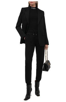 Женское боди HERON PRESTON черного цвета, арт. HWHA004F21KNI0011001 | Фото 2