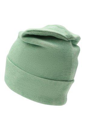 Мужская шапка HERON PRESTON светло-зеленого цвета, арт. HMLC004F21KNI0025500   Фото 2