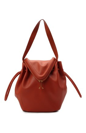 Женская сумка beak large BOTTEGA VENETA  цвета, арт. 666511/VCP40   Фото 1 (Материал: Натуральная кожа; Размер: large; Сумки-технические: Сумки top-handle)