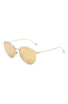 Женские солнцезащитные очки GIORGIO ARMANI золотого цвета, арт. AR6114 | Фото 1