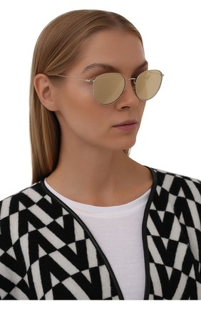 Женские солнцезащитные очки GIORGIO ARMANI золотого цвета, арт. AR6114 | Фото 2