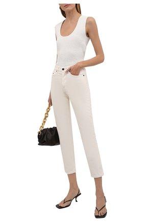 Женские джинсы THE ROW кремвого цвета, арт. 4944W1493 | Фото 2