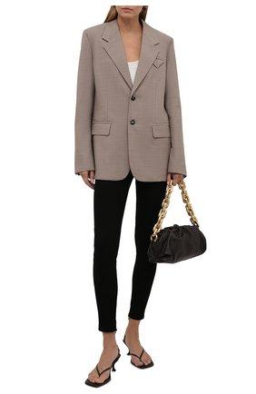 Женские замшевые брюки-скинни RALPH LAUREN черного цвета, арт. 290618851 | Фото 2 (Женское Кросс-КТ: Брюки-одежда; Длина (брюки, джинсы): Укороченные, Стандартные; Силуэт Ж (брюки и джинсы): Узкие; Стили: Кэжуэл; Материал внешний: Замша)