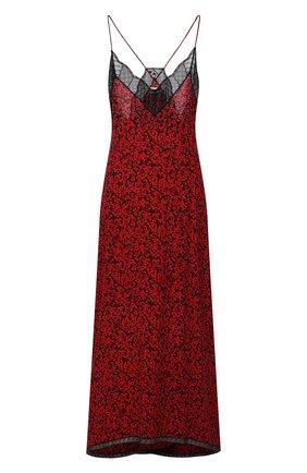 Женское платье из вискозы ZADIG&VOLTAIRE красного цвета, арт. WKCP0445F   Фото 1