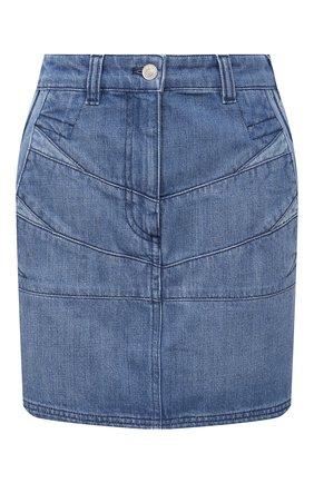 Женская джинсовая юбка KENZO темно-синего цвета, арт. FB62DJ2619FA | Фото 1