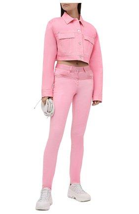 Женские джинсы GIVENCHY розового цвета, арт. BW50RD50N1 | Фото 2