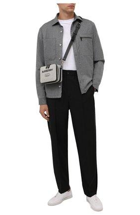 Мужская шерстяная рубашка Z ZEGNA серого цвета, арт. 205820/ZC0T8 | Фото 2