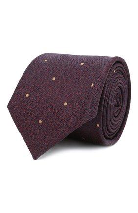 Мужской шелковый галстук ETON бордового цвета, арт. A000 32546   Фото 1