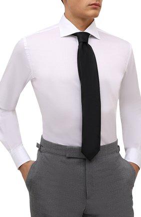 Мужской шелковый галстук ETON черного цвета, арт. A000 32661 | Фото 2