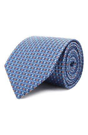 Мужской шелковый галстук ETON голубого цвета, арт. A000 33081   Фото 1
