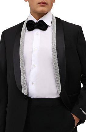 Мужской галстук-бабочка ETON черного цвета, арт. A000 33150 | Фото 2
