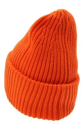Мужская шапка из шерсти и кашемира MONCLER оранжевого цвета, арт. G2-091-3B000-48-M1127   Фото 2