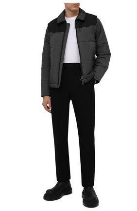 Мужская утепленная куртка CANALI темно-серого цвета, арт. 040649E/SY01830 | Фото 2