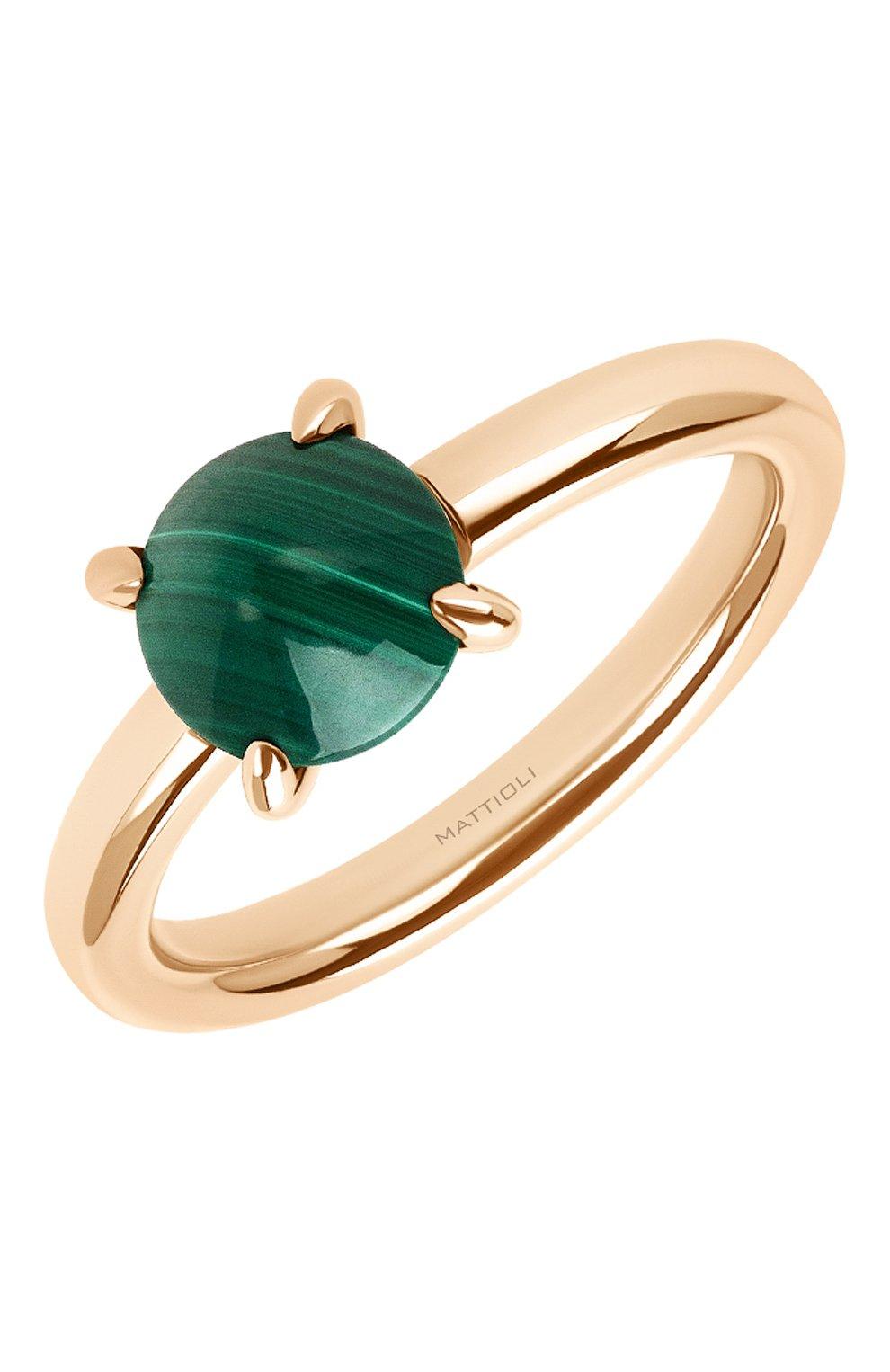 Женские кольцо MATTIOLI бесцветного цвета, арт. MAN137R006M   Фото 1