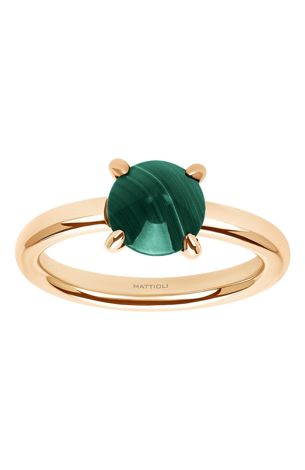Женские кольцо MATTIOLI бесцветного цвета, арт. MAN137R006M   Фото 2